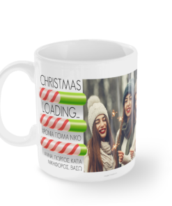 Χριστουγεννιάτικα Δώρα Κούπα Φωτογραφία Όνομα Αφιέρωση