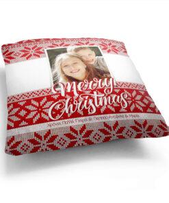 Μαξιλάρια Χριστουγεννιάτικα Δώρα Φωτογραφία Όνομα Αφιέρωση