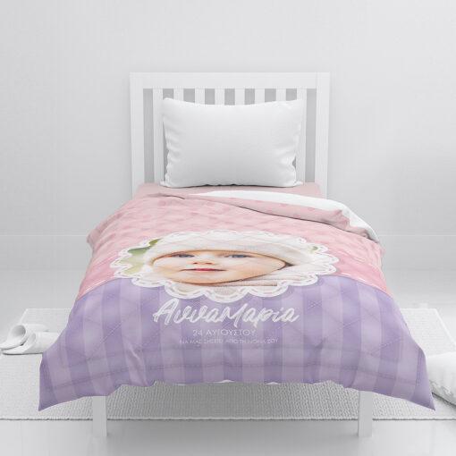 Παιδικό πάπλωμα   Κουβέρτα μωρού   Διακοσμητικό κουβερλί   Προίκα Νονάς   Κουβέρτα κούνιας, λίκνου, βόλτας, καροτσιού