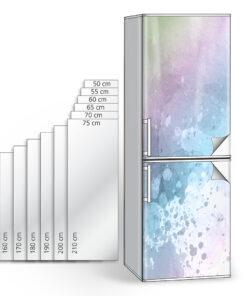 Αυτοκόλλητο ψυγείου - διακόσμηση ανακαίνιση σπίτι ψυγείο κουζίνα δωμάτιο γραφείο επένδυση επίπλων ταπετσαρία αδιάβροχη πλαστικοποιημένη